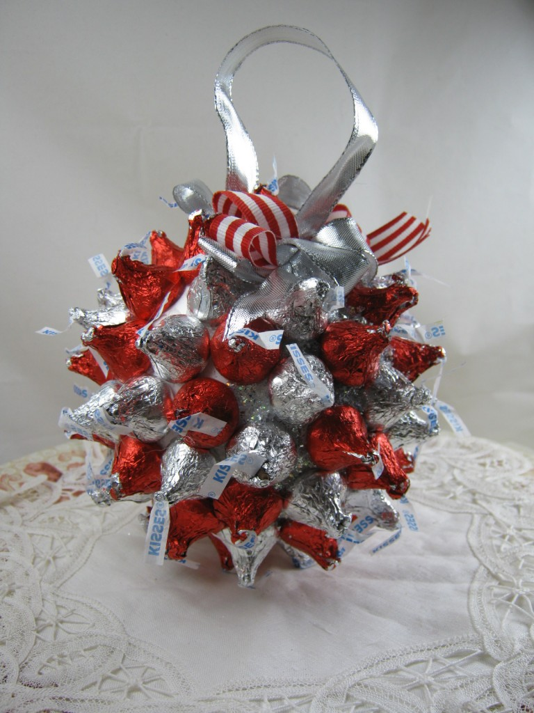 ball of Hershey kisses