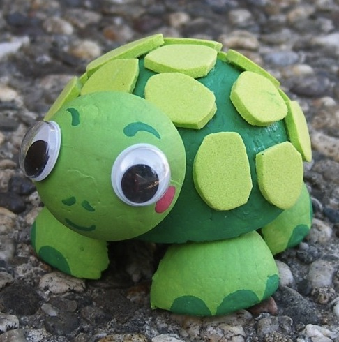 Smoothfoam turtle
