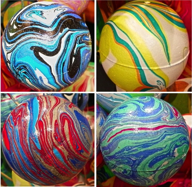 Marbleized Smoothfoam balls