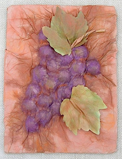 Grape Plaque made with Smoothfoam by Terry Ricioli