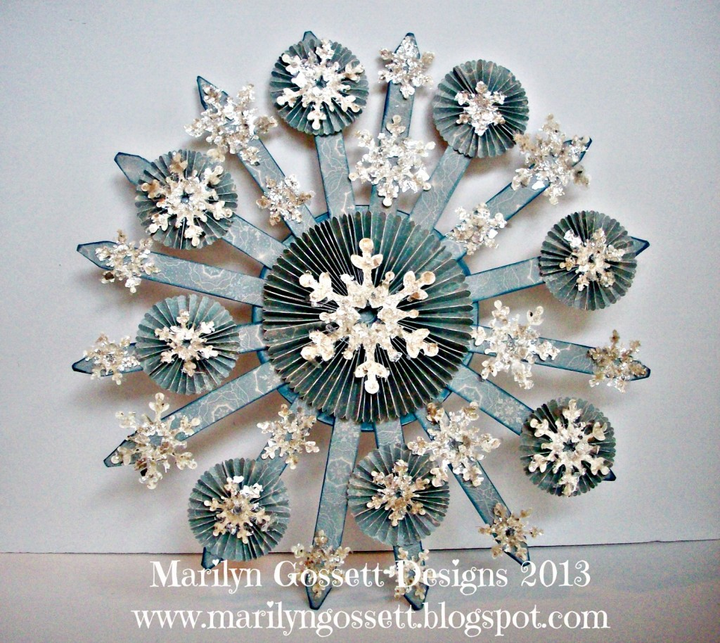 Smoothfoam Snowburst wreath
