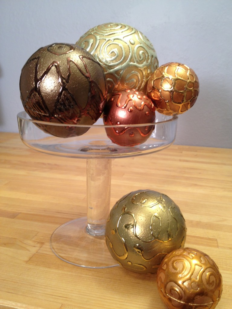 smoothfoam metallic foil balls