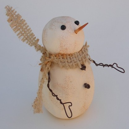 rusty smoothfoam snowman