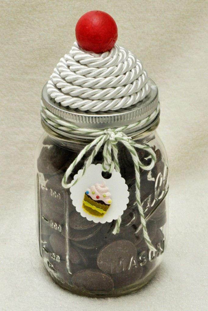 Smoothfoam Mason jar sweets