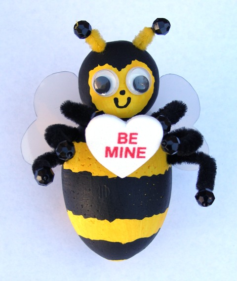 Smoothfoam Bee ornament