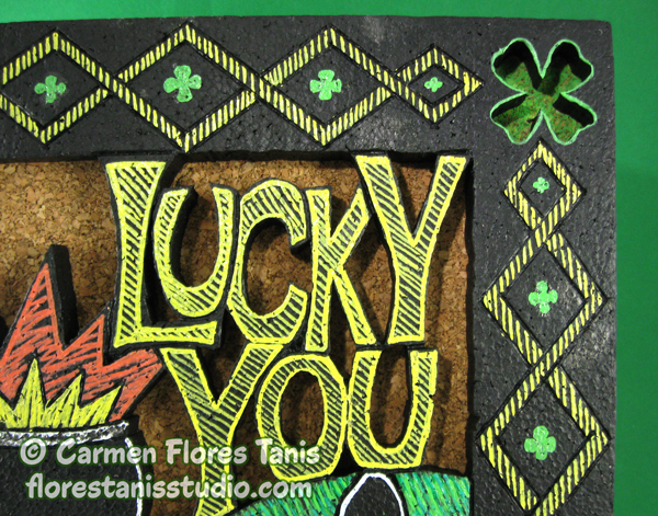 Carved-Lucky-You-Wall-Hanging-by-Carmen-Flores-Tanis-Main-2