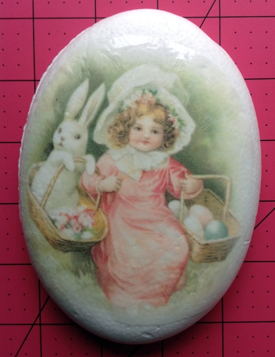 Craft Attitude vintage image Smoothfoam egg