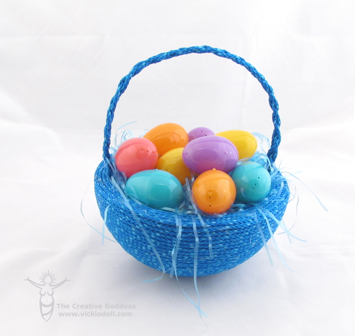 Smoothfoam and Rope Easter Basket for Boys