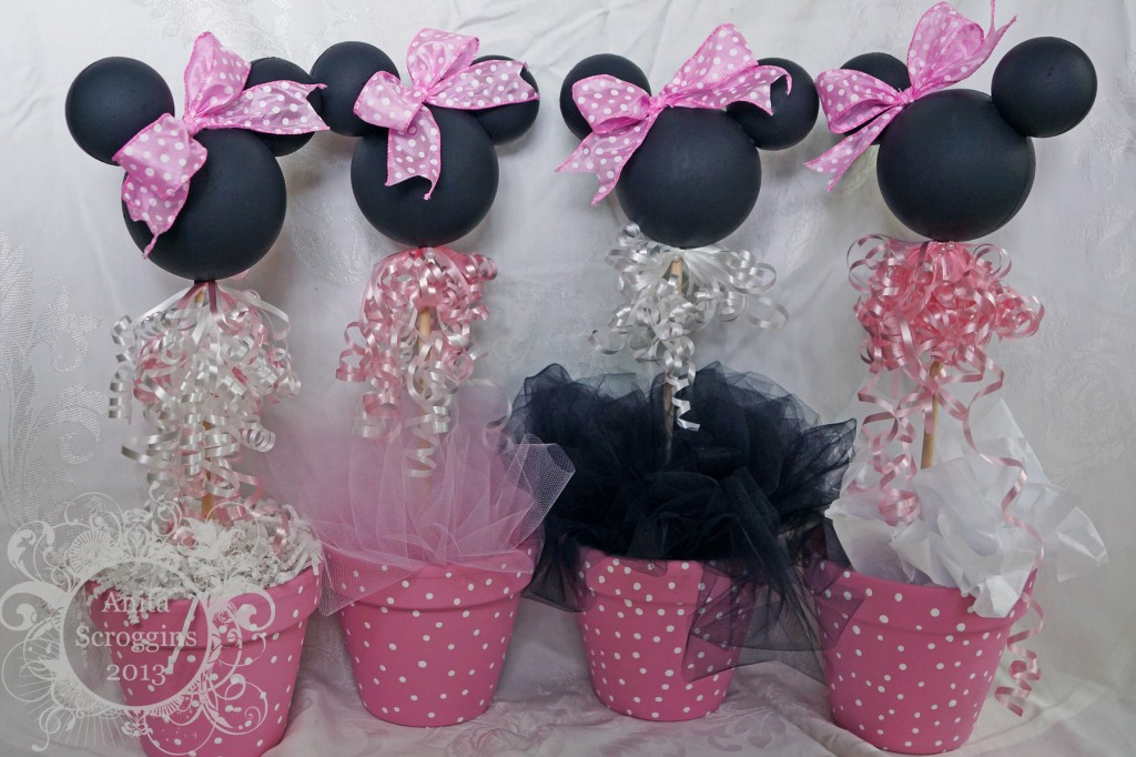 AnitaSCroggins Minnie Centerpieces 6