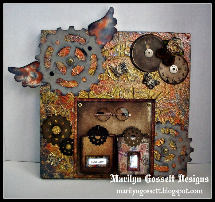 Smoothfoam steampunk Perpetual Calendar