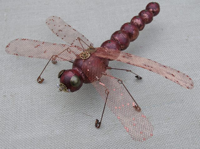 Steampunk smoothfoam Dragonfly
