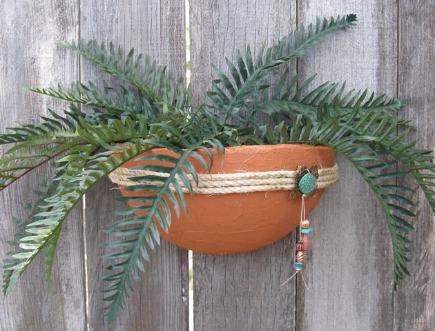 smoothfoam terra cotta pot