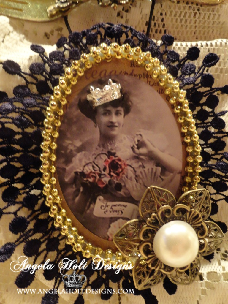 smoothfoam vintage photo ornament