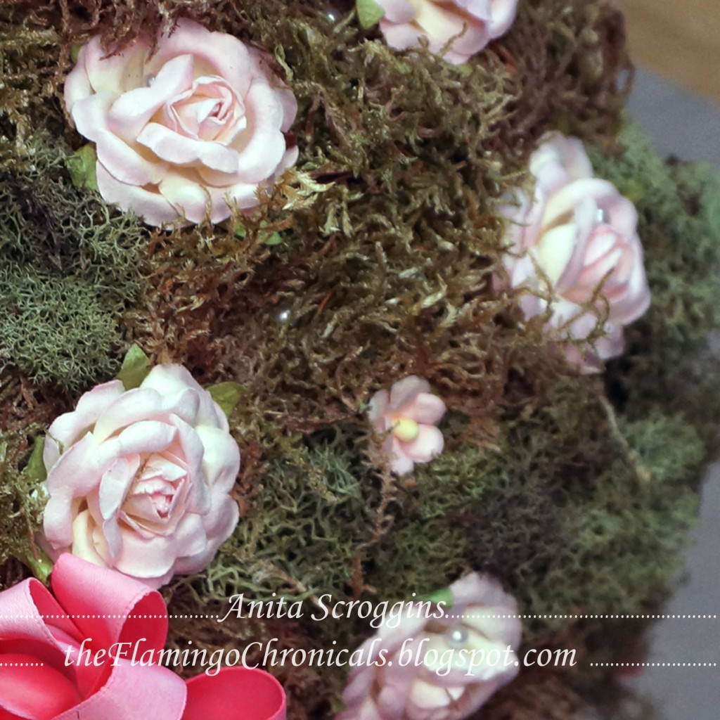 Smoothfoam topiary flowers