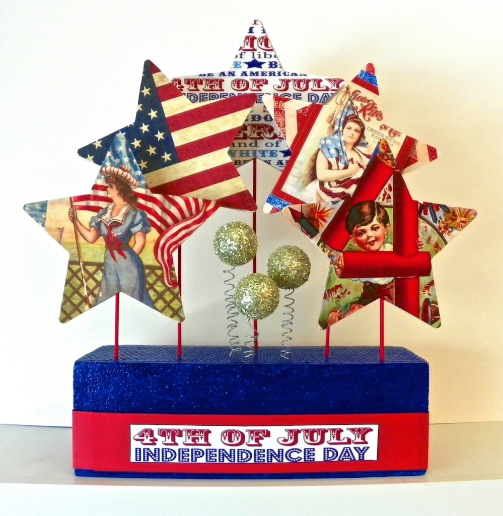 smoothfoam fourth july star centerpiece