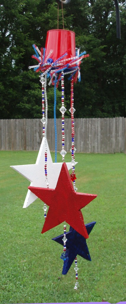 fourth of july sun catcher