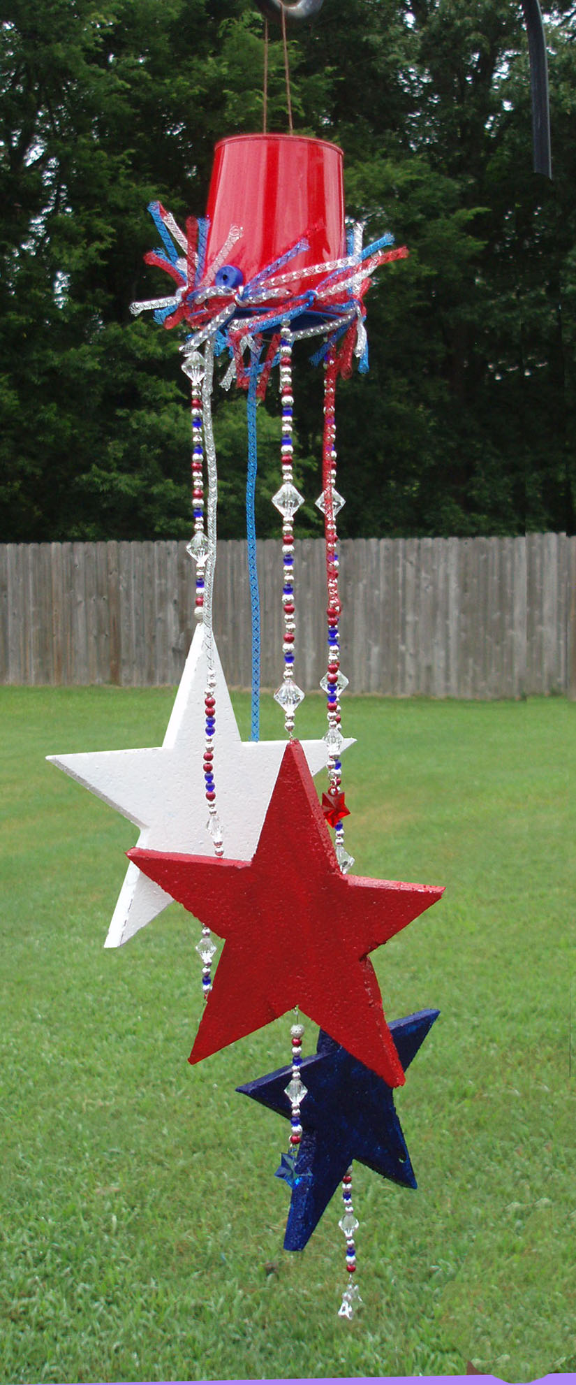 Fourth Of July Star Spangled Sun Catcher Smoothfoam