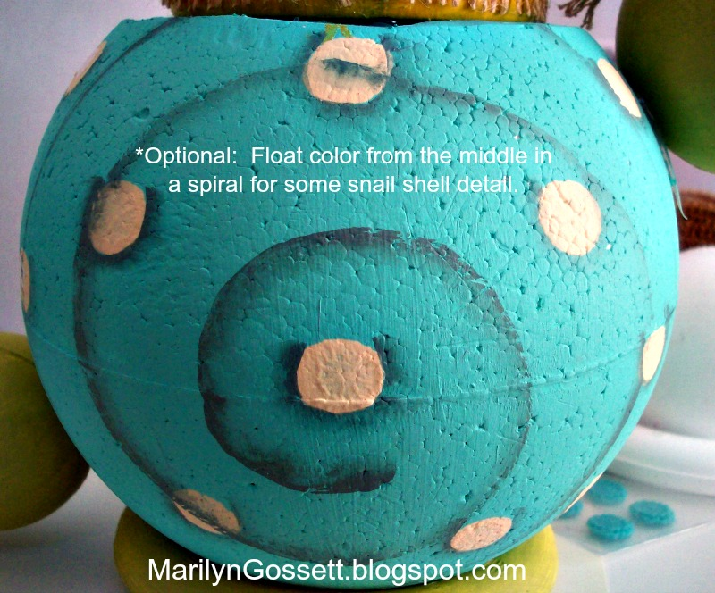 smoothfoam snail body