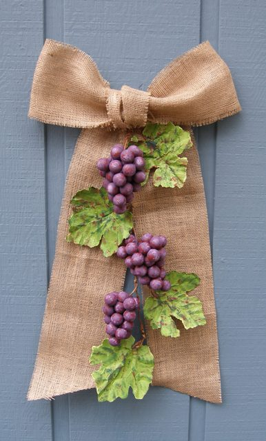 Smoothfoam Grape Garland
