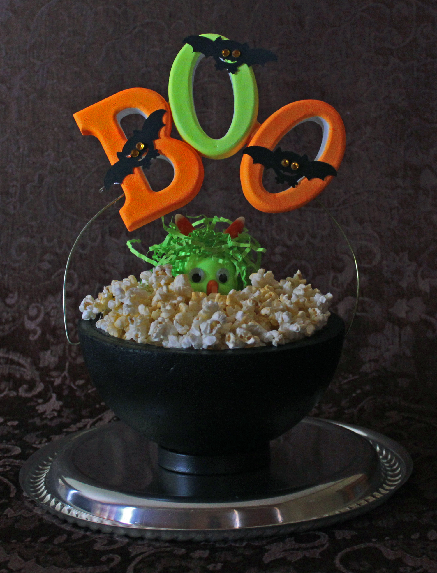 smoothfoam halloween treat bowl