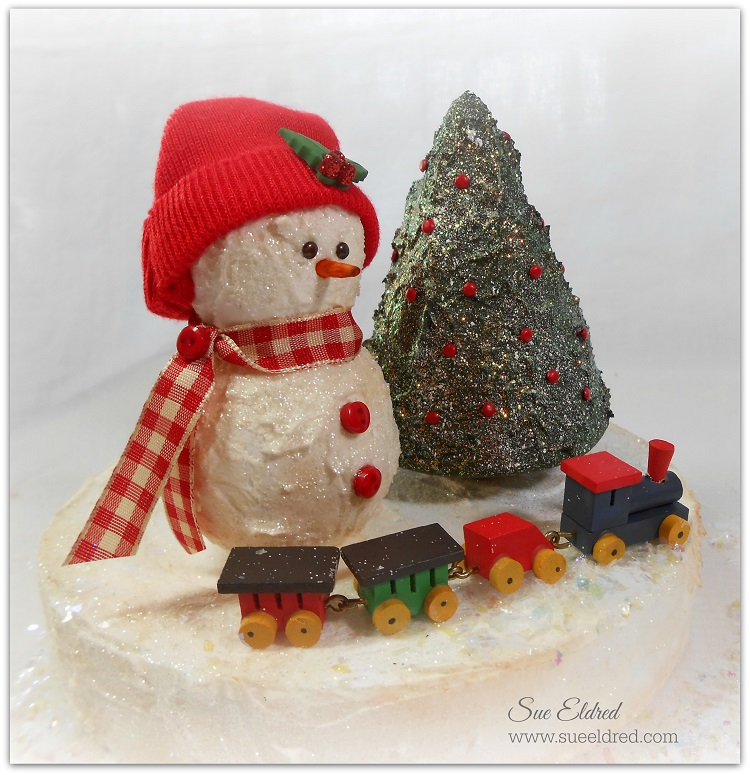 Smoothfoam Snowman christmas Tree