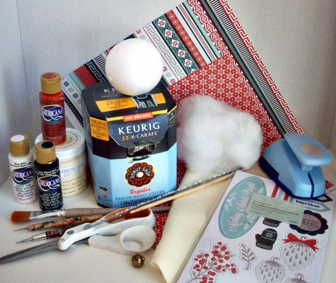 upcycle keurig coffee cup box