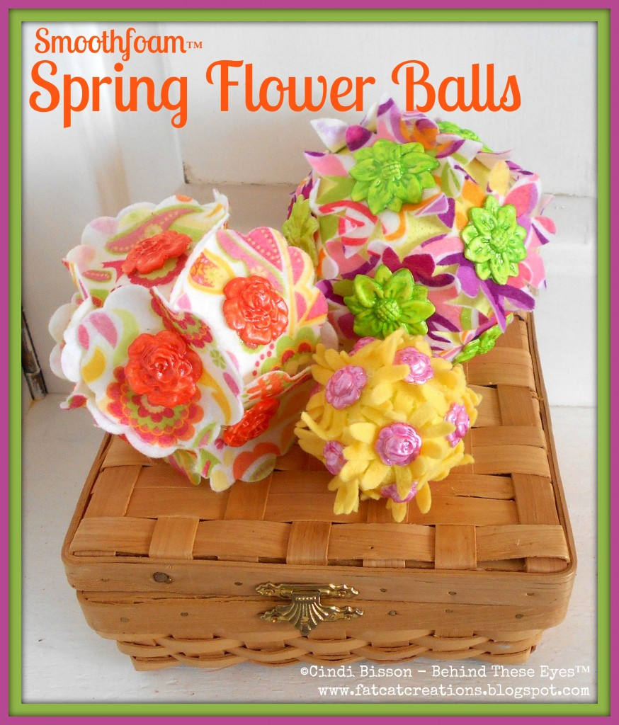 smoothfoam flower balls
