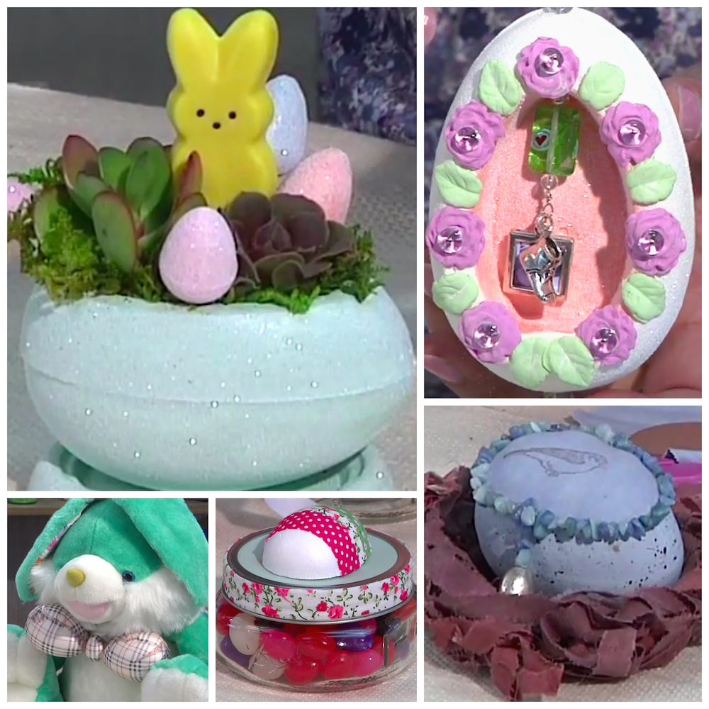 smoothfoam easter egg projects