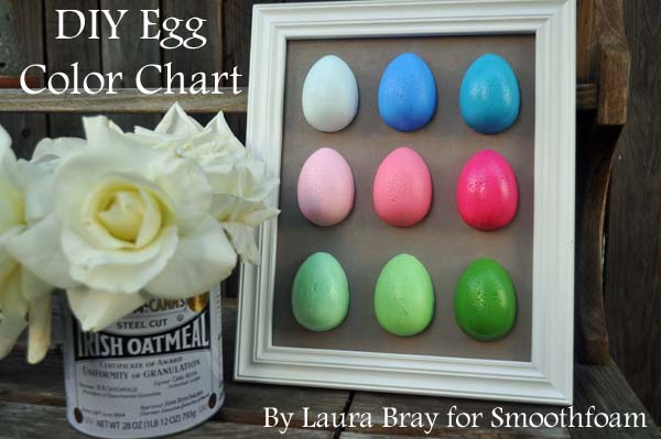 Egg color Chart art panel