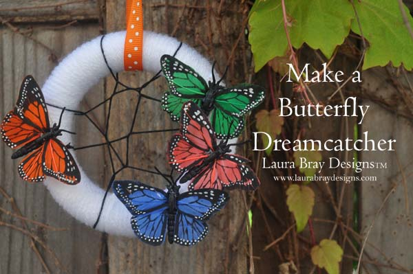 smoothfoam Butterfly Dream Catcher