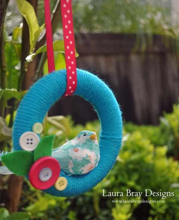 Sweet Spring Bird Wreath