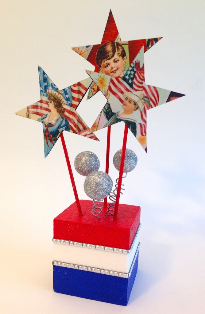 4th of july diy centerpiece lisa fulmer