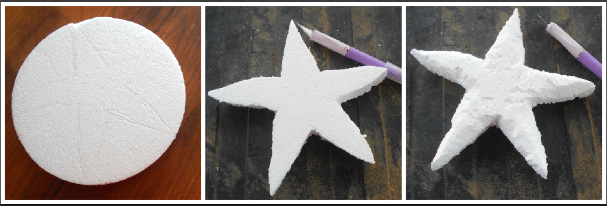 carve smoothfoam starfish