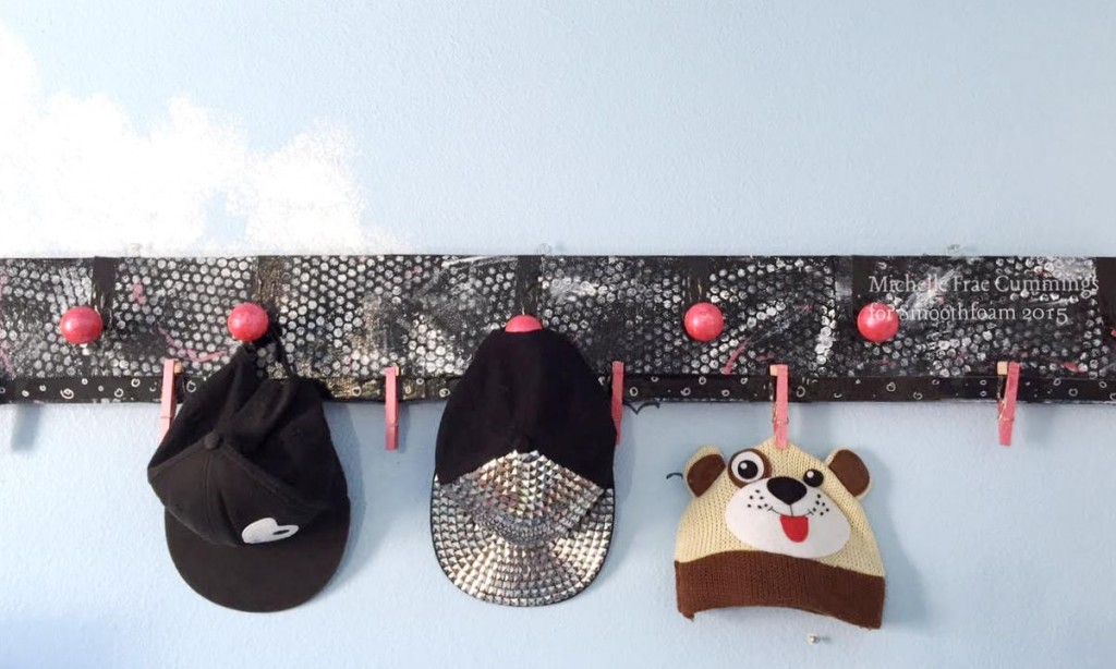 smoothfoam hat rack