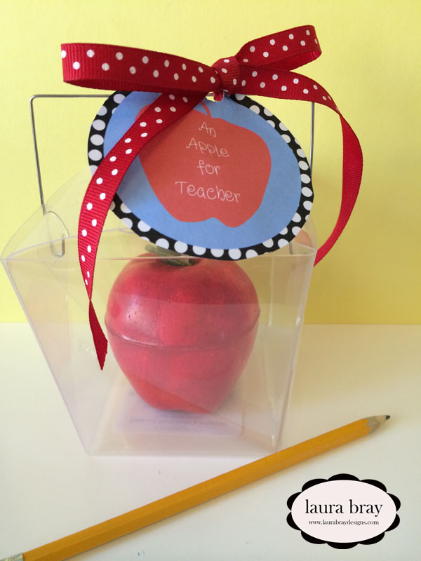 Apple decor teacher appreciation gifts