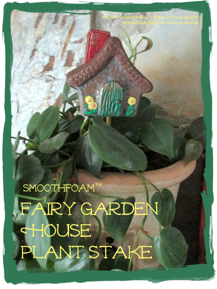 smoothfoam Fairy Garden House