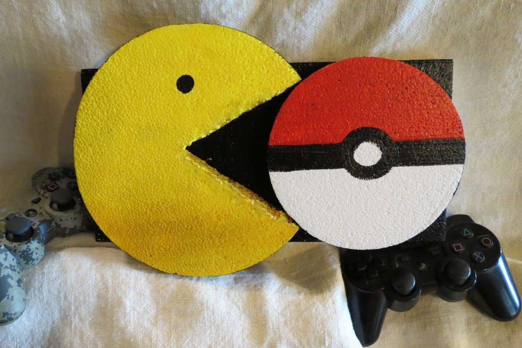smoothfoam pacman sign