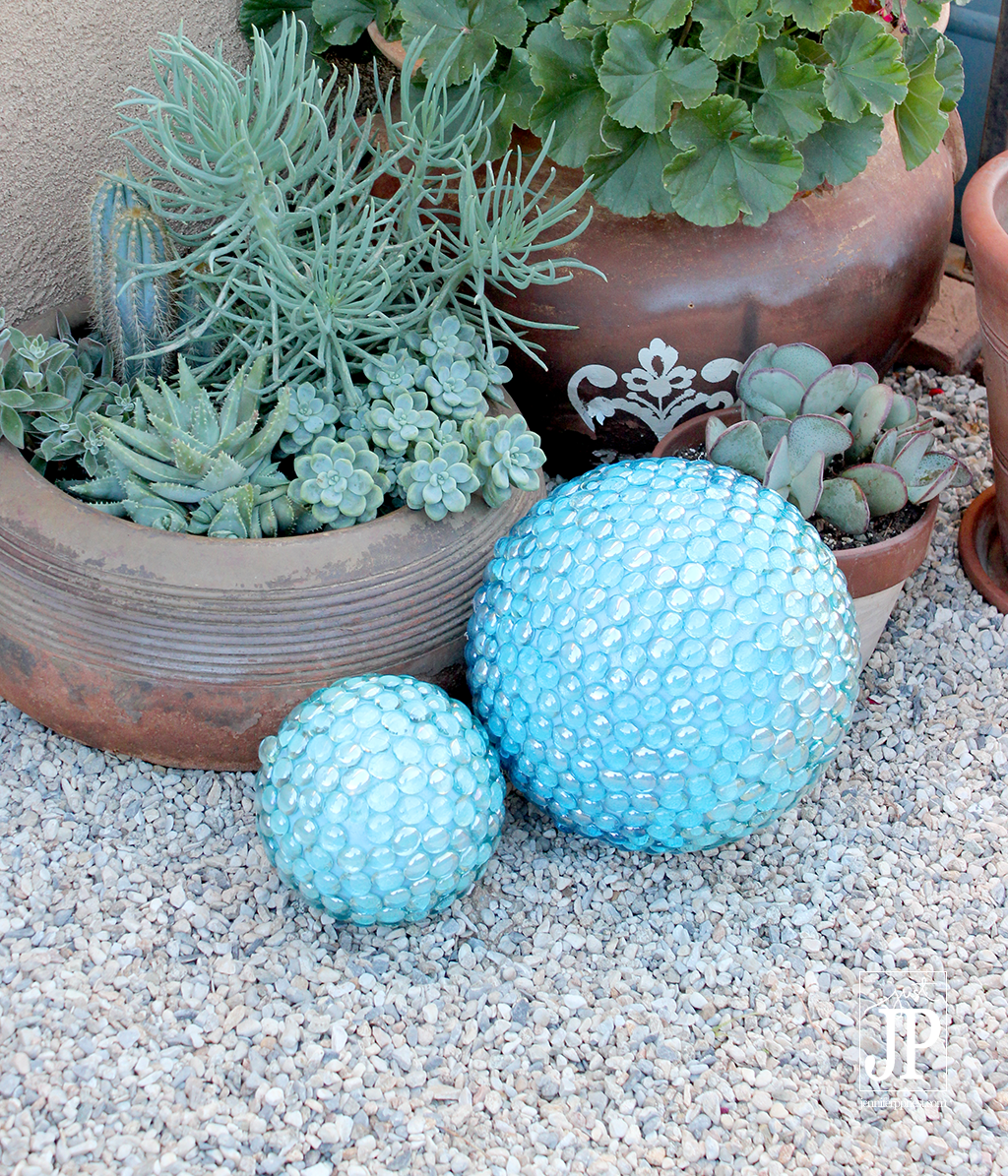 Diy Gazing Balls Make A Garden Gazing Ball Smoothfoam