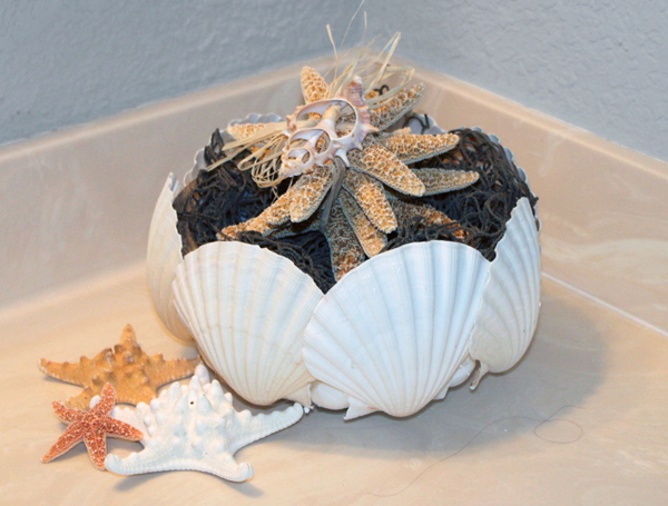 Smoothfoam Shell Gift Basket