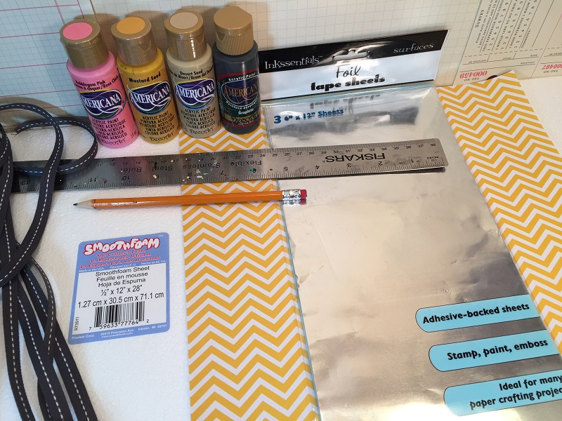 supplies to make pencil sign
