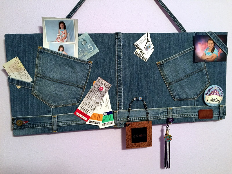 smoothfoam denim bulletin board