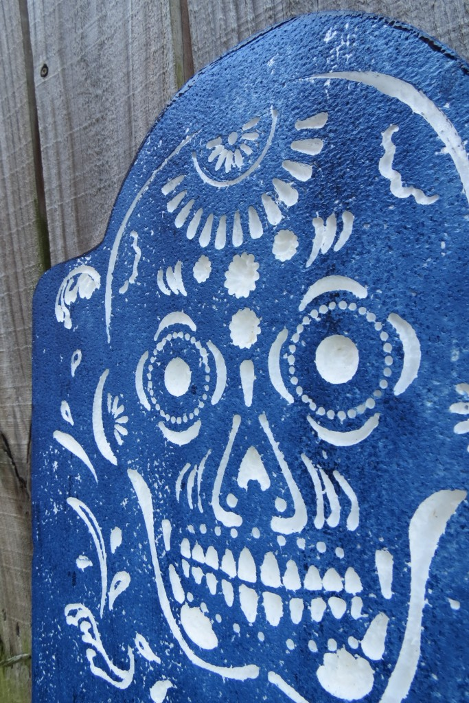 Day of the Dead Smoothfoam carving