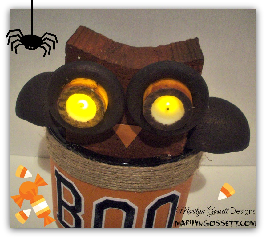 Smoothfoam halloween owl