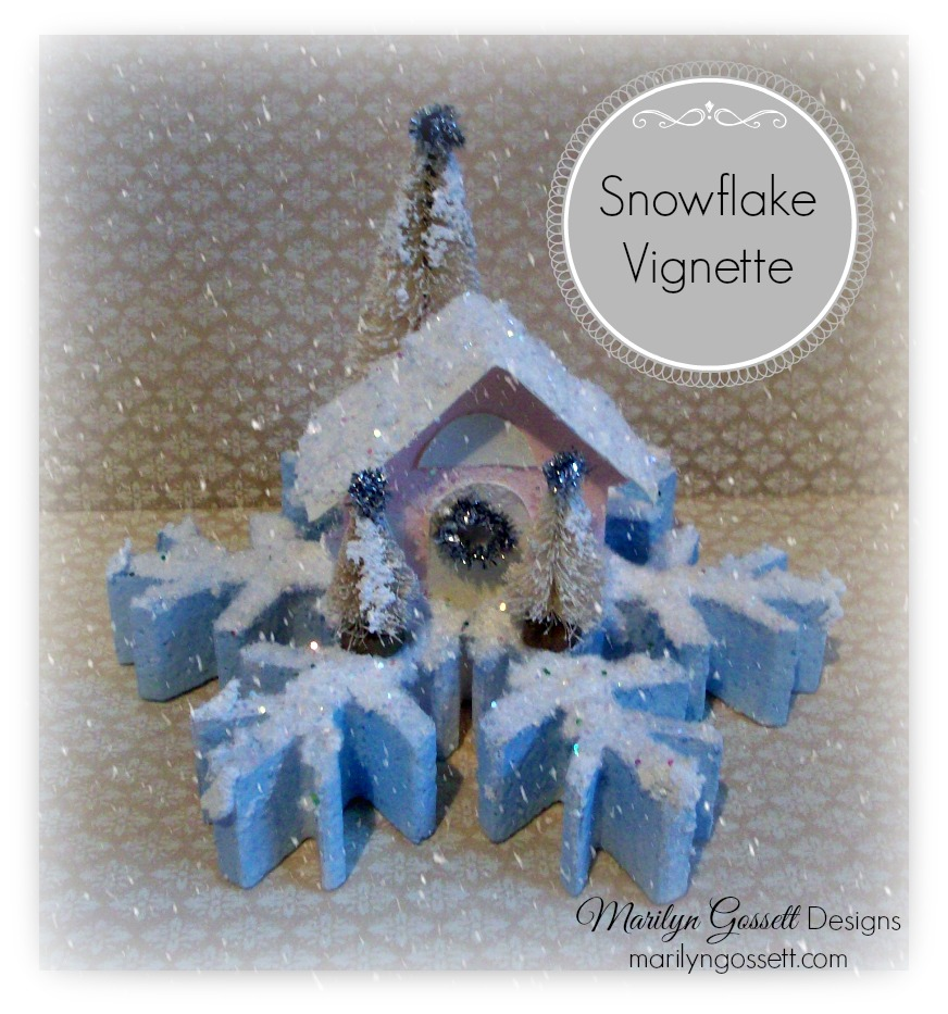smoothfoam Snowflake Vignette