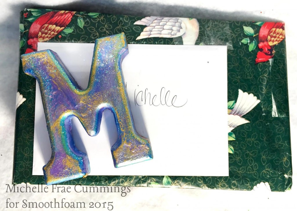 smoothfoam letters monogram magnets