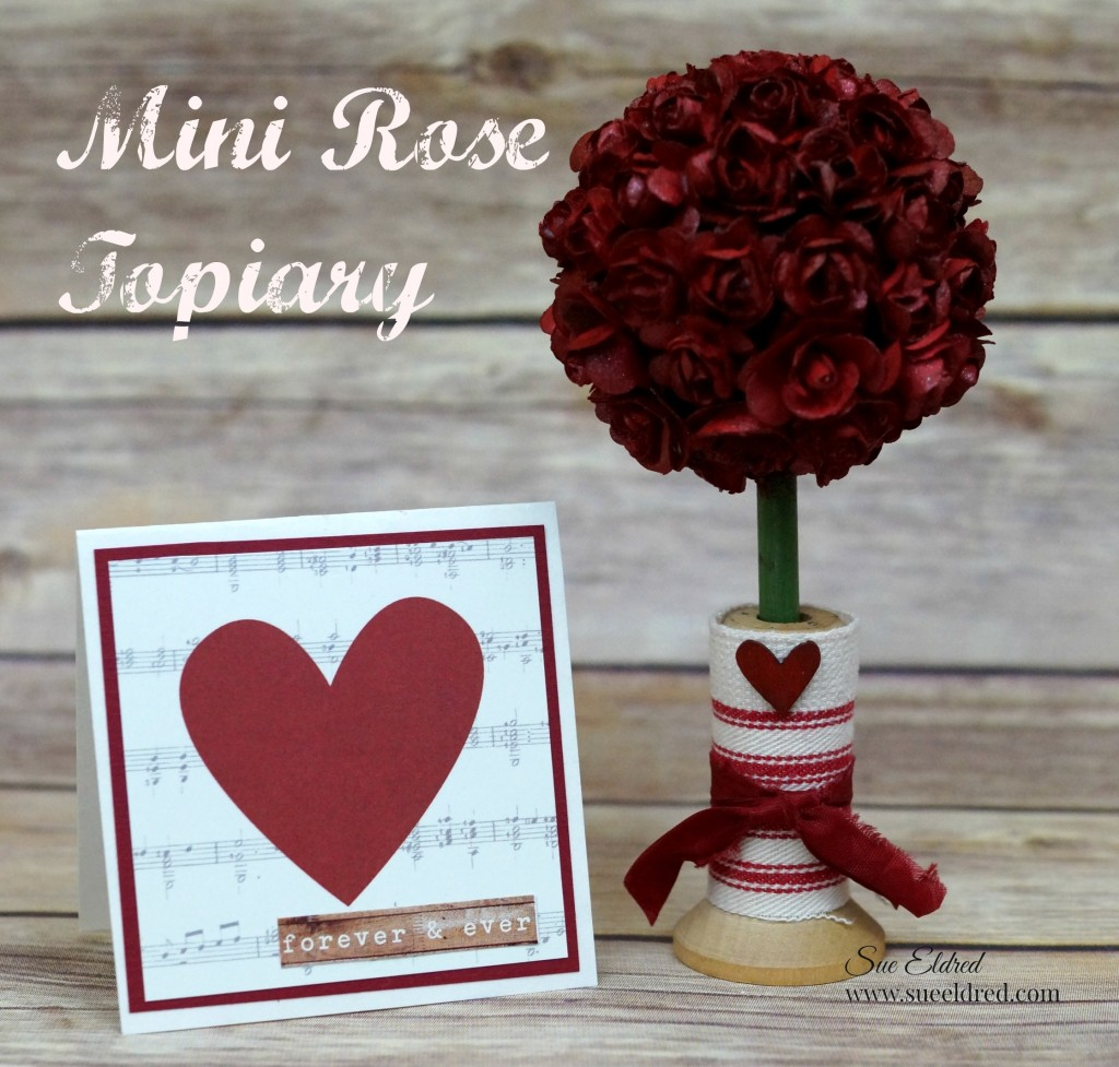 Mini Rose Topiary smoothfoam