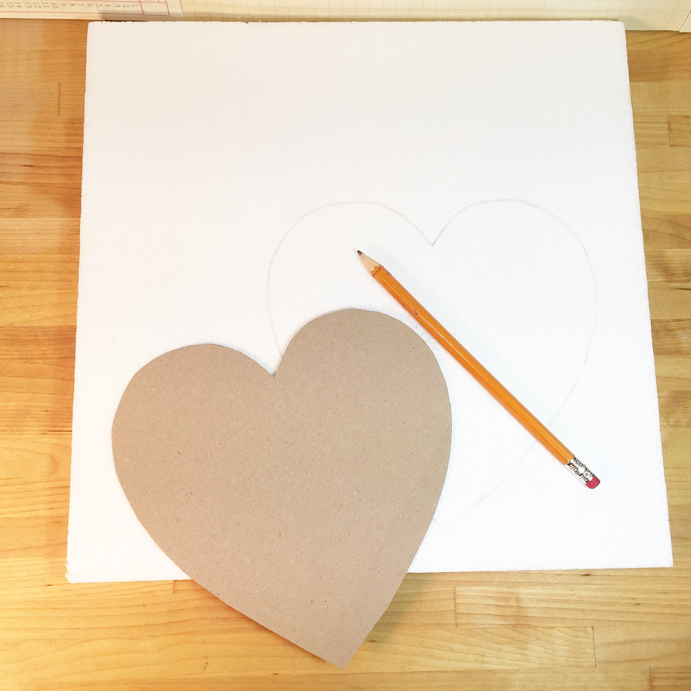 cut heart out of paper