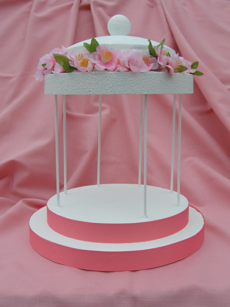 smoothfoam Gazebo centerpiece