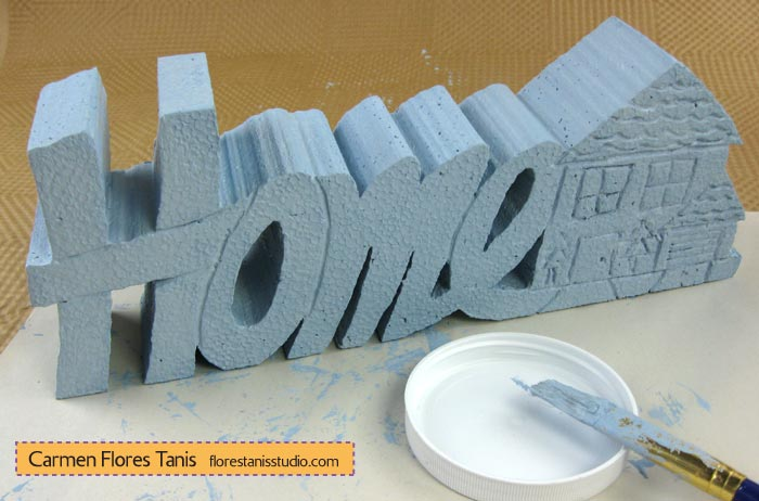 Smoothfoam-Carved-Home-Decoration-Step-3