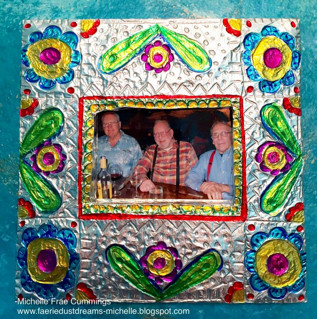 smoothfoam mexican folk art frame